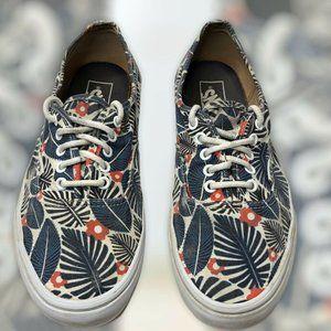 Vans Tropic Havana Blue Floral Shoe Men 9.5